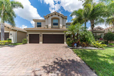 Boynton Beach Single Family Home For Sale: 10540 Palacio Ridge Court