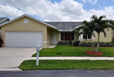 Coconut Creek Single Family Home For Sale: 3850 NW 58 Street