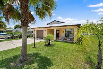 Port Saint Lucie Single Family Home For Sale: 67 Mediterranean Boulevard E