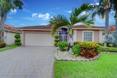Boynton Beach Single Family Home For Sale: 7571 Caprio Drive