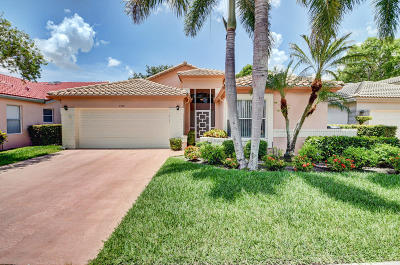 Boynton Beach Single Family Home For Sale: 7939 Sailing Shores Terrace