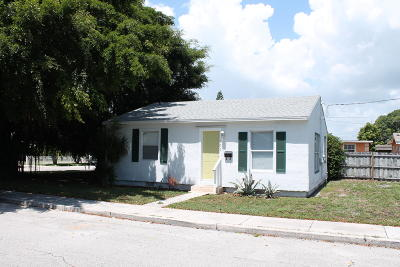 West Palm Beach Single Family Home For Sale: 501 Valley Forge Road