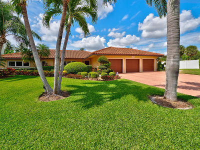 Boca Raton FL Single Family Home For Sale: $1,655,000