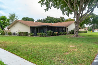 Delray Beach Single Family Home For Sale: 766 NW 30th Avenue #D