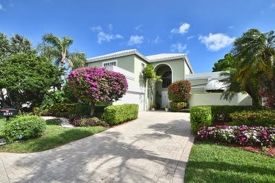 Boca Raton Single Family Home For Sale: 5311 Ascot Bend