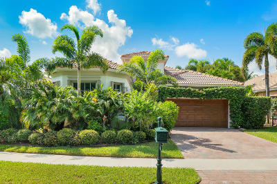 Delray Beach Single Family Home For Sale: 5594 Via De La Plata Circle