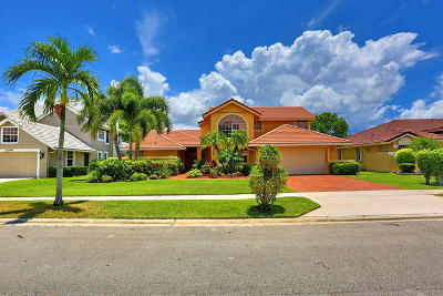 Boca Raton Single Family Home For Sale: 22056 Aqua Court