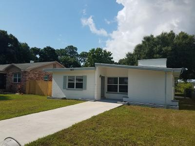 Fort Pierce Single Family Home Contingent: 1611 Paseo Avenue