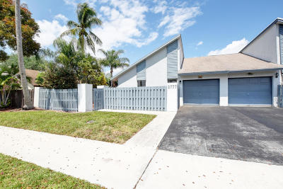 Delray Beach Single Family Home For Sale: 2777 SW 2nd Street