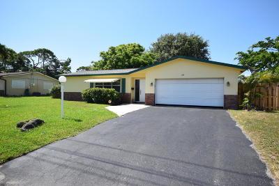 Boynton Beach Single Family Home Contingent: 1184 SW 28th Avenue