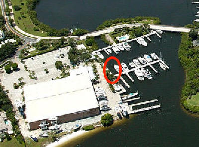 Jupiter Residential Lots & Land For Sale: 3238 Casseekey Island Road #Dock 2