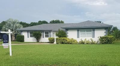 Port Saint Lucie Single Family Home For Sale: 416 SE Naranja Avenue