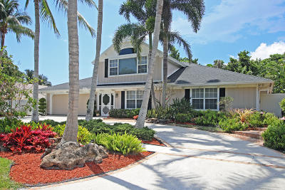 Tequesta Single Family Home For Sale: 4608 Orchid Drive