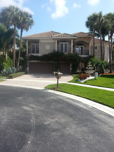 Boynton Beach Rental For Rent: 9839 Coronado Lake Drive