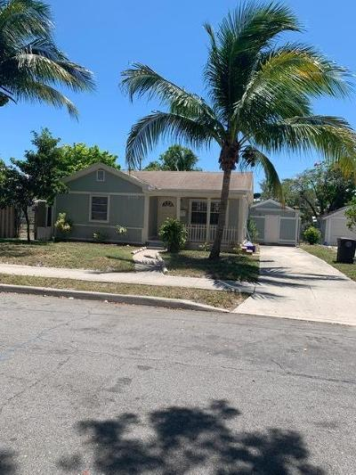 West Palm Beach Single Family Home For Sale: 700 47th Street