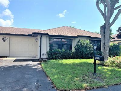 Palm Beach County Condo For Sale: 4855 Equestrian Road #B