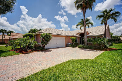 Delray Beach Single Family Home For Sale: 5392 Grande Palm Circle