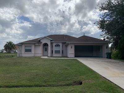 Port Saint Lucie Single Family Home For Sale: 3450 SW Darwin Boulevard