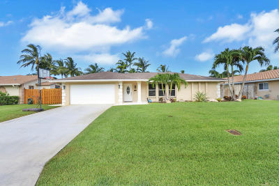 Palm Beach Gardens Single Family Home Contingent: 11638 Fir Street