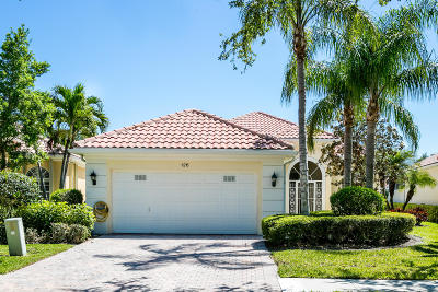 Palm Beach Gardens Single Family Home For Sale: 126 Euphrates Circle
