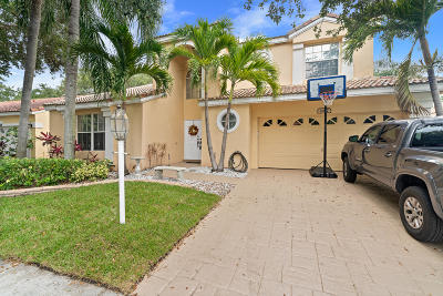 Palm Beach Gardens Single Family Home For Sale: 1027 Siena Oaks Circle W
