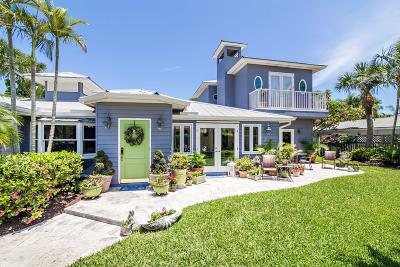 Jupiter Inlet Colony Single Family Home For Sale: 122 Lighthouse Drive