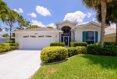 Port Saint Lucie Single Family Home Contingent: 582 NW Montevina Drive