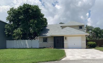 Boynton Beach Single Family Home For Sale: 74 Rosewood Circle NW