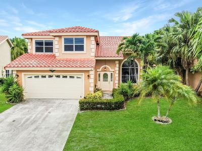 Boynton Beach Single Family Home For Sale: 8632 Tourmaline Boulevard