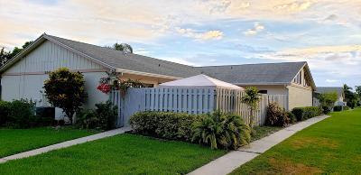 Boynton Beach Single Family Home For Sale: 8847 Thumbwood Circle #C
