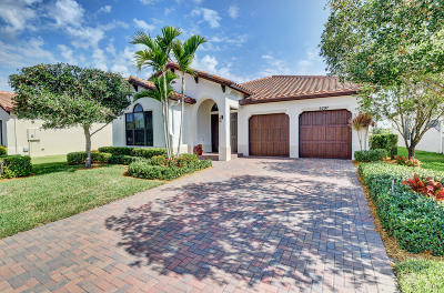 Lake Worth Single Family Home For Sale: 6297 Vireo Court