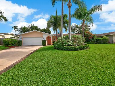 Palm Beach Gardens Single Family Home For Sale: 4403 Fuschia Circle