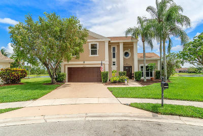 Boca Raton Single Family Home Contingent: 12043 Rockwell Way