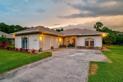 Fort Pierce Single Family Home Contingent: 2728 S Serenity Circle