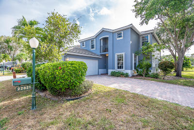 Boca Raton Single Family Home Contingent: 22821 Chelsea Wood Court