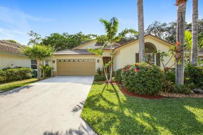 Boynton Beach Single Family Home For Sale: 7777 Manor Forest Lane