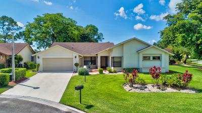 Delray Beach Single Family Home For Sale: 5584 Sugar Mill Court