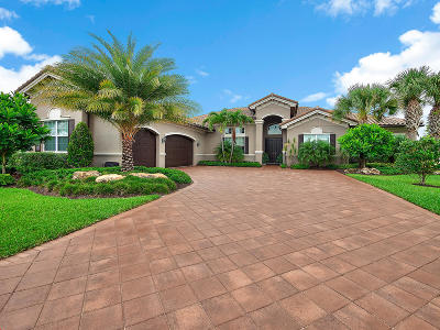 Palm Beach Gardens Single Family Home For Sale: 11103 Rockledge View Drive