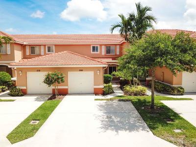 Royal Palm Beach Townhouse For Sale: 6184 Whalton Street