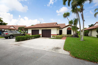 Boynton Beach Single Family Home For Sale: 10695 Palm Leaf Drive #B