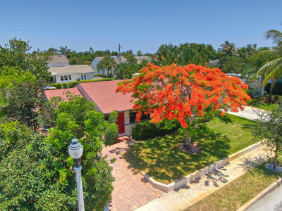 West Palm Beach Single Family Home For Sale: 357 Colonial Road