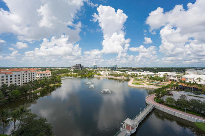 Palm Beach Gardens Condo For Sale: 3630 Gardens Parkway #902c