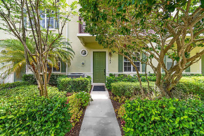Jupiter Townhouse Contingent: 143 E Indian Crossing Circle