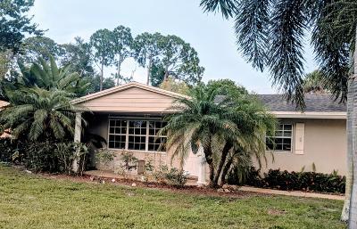 Fort Pierce Single Family Home Contingent: 7103 Cabana Lane