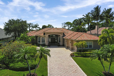 West Palm Beach Single Family Home For Sale: 8227 Lakeview Drive