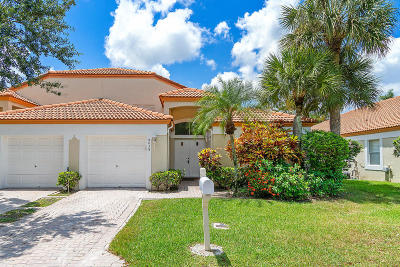 Delray Beach Single Family Home For Sale: 8038 Tranquility Lake Drive