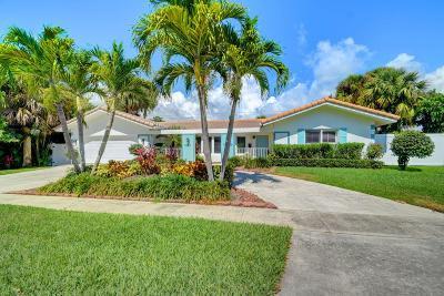 Boca Raton Single Family Home For Sale: 221 SW 8th Terrace