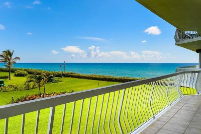 Palm Beach Condo For Sale: 2100 S Ocean Boulevard #202n