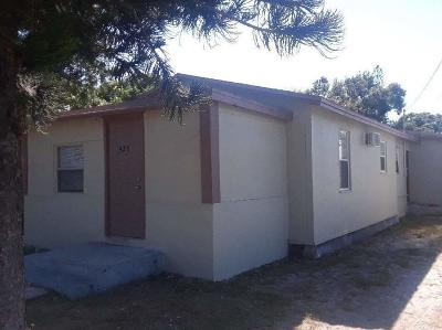 Fort Pierce Single Family Home For Sale: 425 26th Street