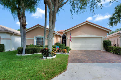 West Palm Beach Single Family Home For Sale: 8685 Pine Cay